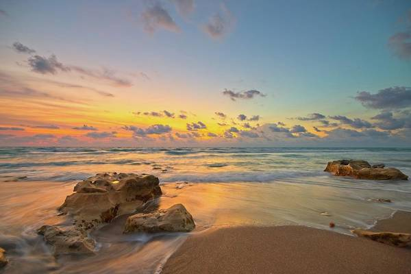 Photograph - Colorful Seascape by Steve DaPonte