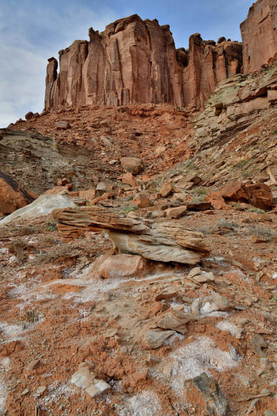 Photograph - Colorful Slopes Of Mineral Bottom In Canyonlands by Ray Mathis