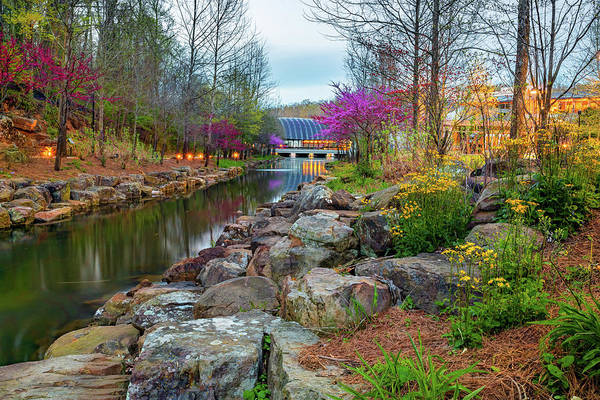 Photograph - Colorful Spring At Crystal Bridges Museum Of American Art by Gregory Ballos