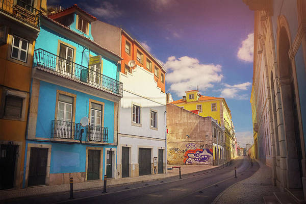 Wall Art - Photograph - Colorful Streets Of Lisbon Portugal  by Carol Japp