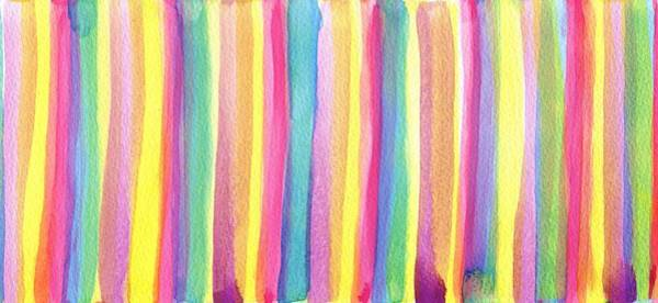Candy Painting - Colorful Striped by ArtMarketJapan