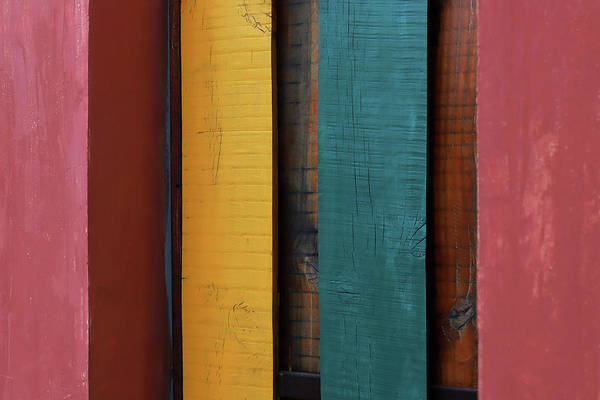 Photograph - Colorful Stripes by Prakash Ghai