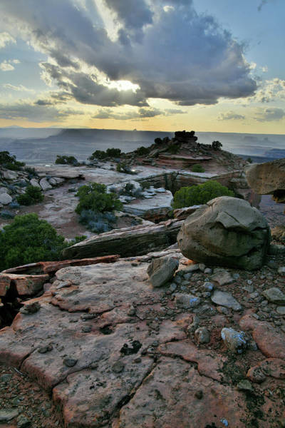 Photograph - Colorful Sunset In Canyonlands National Park by Ray Mathis