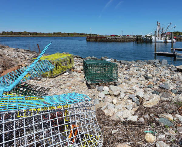 Photograph - Colorful Traps By The Cape Cod Canal by Michelle Constantine