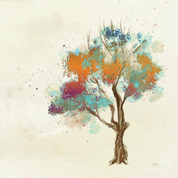 Wall Art - Digital Art - Colorful Tree by Lois Bryan