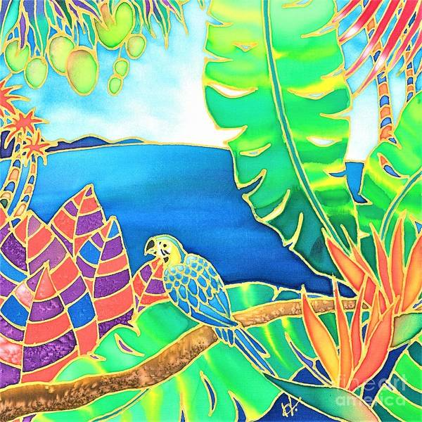 Painting - Colorful Tropics 16 by Hisayo Ohta
