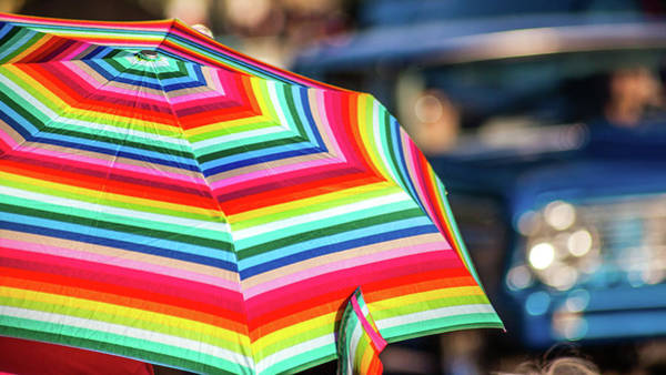 Photograph - Colorful Umbrella by Jeanette Fellows