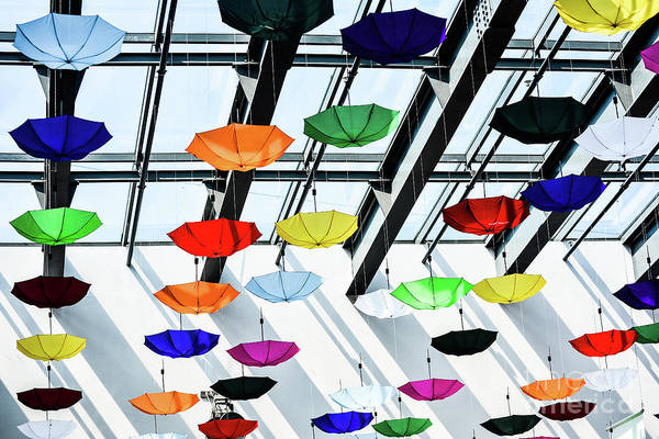 Wall Art - Photograph - Colorful Umbrellas by Andy Cristescu