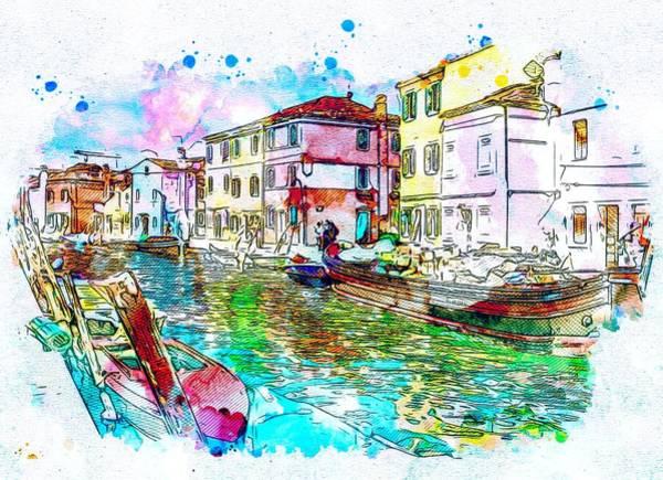 Venezia Painting - Colorful Venezia by ArtMarketJapan