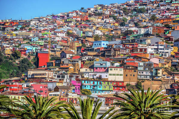 Wall Art - Photograph - Colorful Walls Of Valparaiso by Delphimages Photo Creations