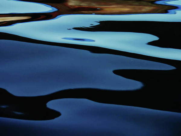 Photograph - Colorful Water Background Abstract by Lubilub