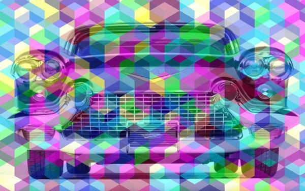 Digital Art - Colorist Great Car by Alberto RuiZ