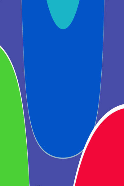 Wall Art - Digital Art - Colors And Forms No.2 by Steve K