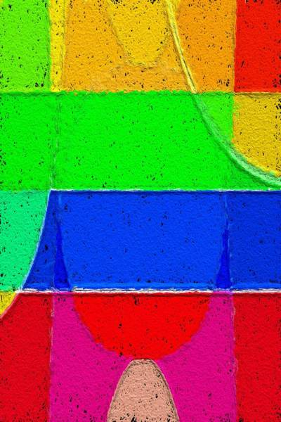 Wall Art - Painting - Colors And Forms No.1 by Steve K