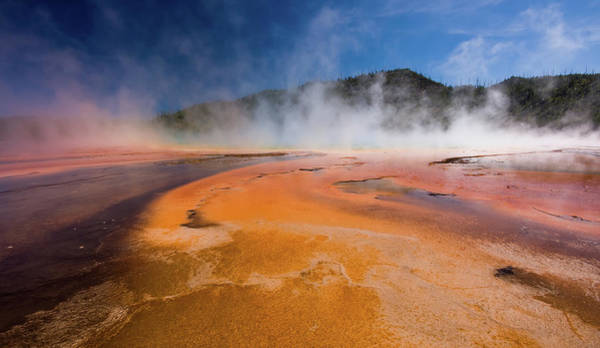Prismatic Wall Art - Photograph - Colors At Grand Prismatic Spring by By Sathish Jothikumar