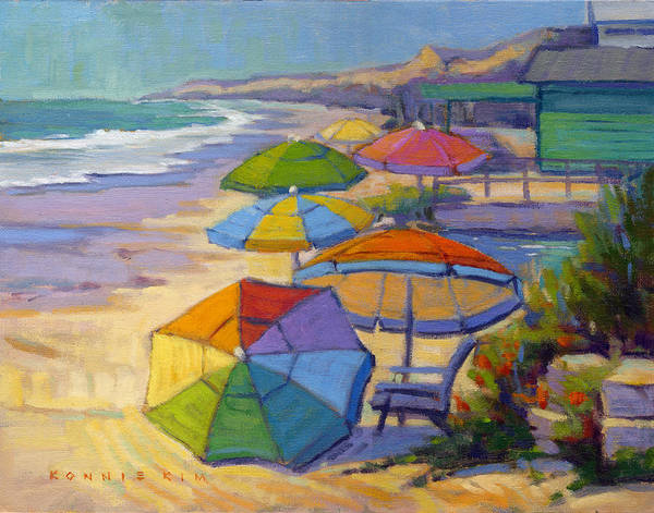 Painting - Colors Of Crystal Cove by Konnie Kim