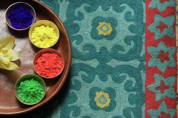 Wall Art - Photograph - Colors Of India  Holi by Chandan Dubey