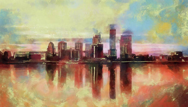 Painting - Colors Of Louisville by Dan Sproul