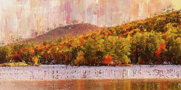Painting - Colors Of Maine - 05 by Andrea Mazzocchetti