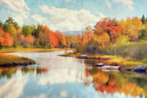 Painting - Colors Of Maine - 07 by Andrea Mazzocchetti