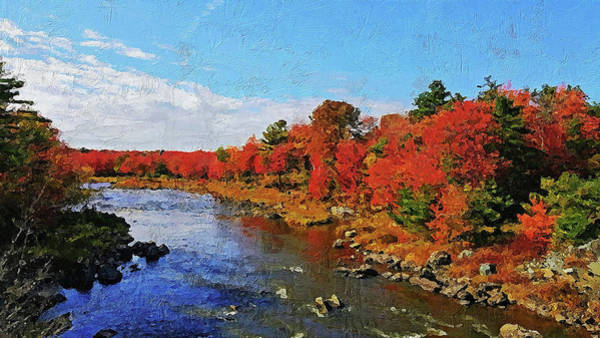 Painting - Colors Of Maine - 11  by Andrea Mazzocchetti