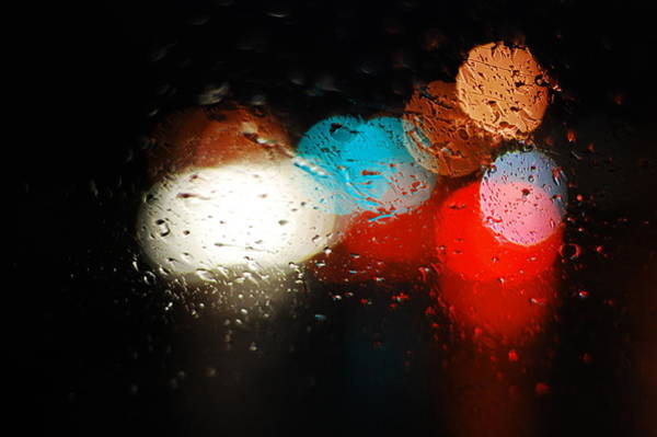 Rain Photograph - Colors Of Rain by Feng Zhao