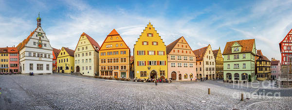 Wall Art - Photograph - Colors Of Rothenburg Ob Der Tauber by JR Photography
