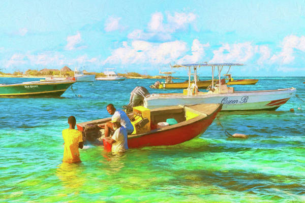 Photograph - Colors Of The Caribbean In Island Harbour Anguilla by Ola Allen