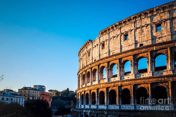 Wall Art - Photograph - Colosseum In Rome In Rome, Italy by Ilolab