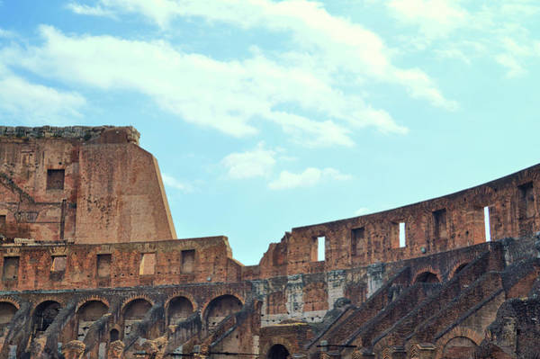 Photograph - Colosseum Patterns  by JAMART Photography