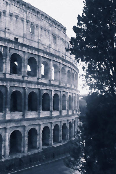 Painting - Colosseum, Rome - 15 by Andrea Mazzocchetti