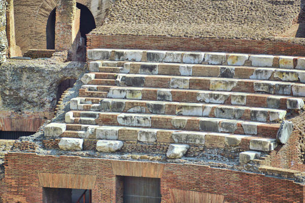 Photograph - Colosseum Seating by JAMART Photography