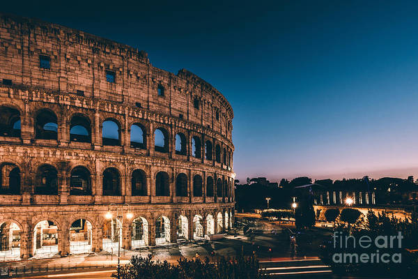 Arena Wall Art - Photograph - Colosseum by Tom Bennink