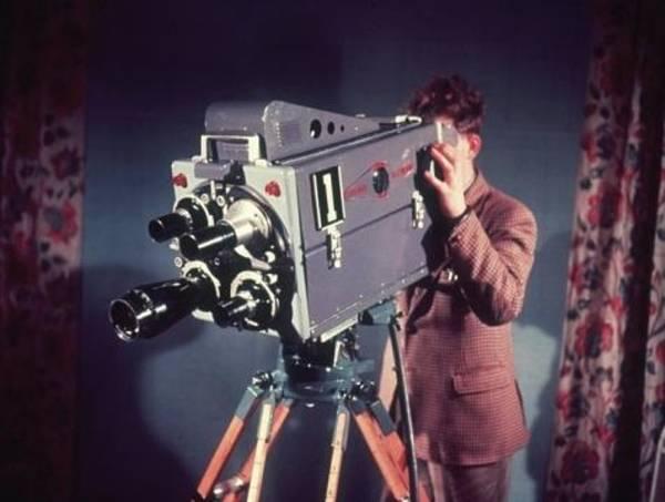 Jacket Photograph - Colour Tv Camera by Raymond Kleboe