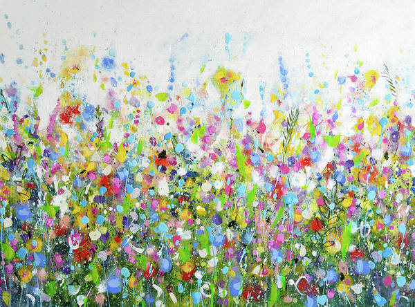 Painting - Colourful Meadow 40 by Tracy-Ann Marrison