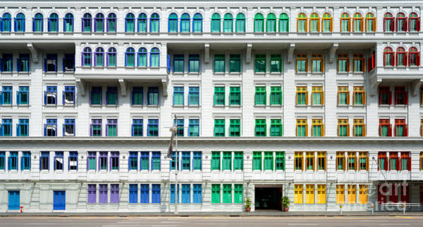 Wall Art - Photograph - Colourful Window Shutters  Of The Mica by Chris Howey