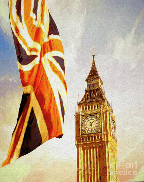 Digital Art - Colours Of Britain by Edmund Nagele