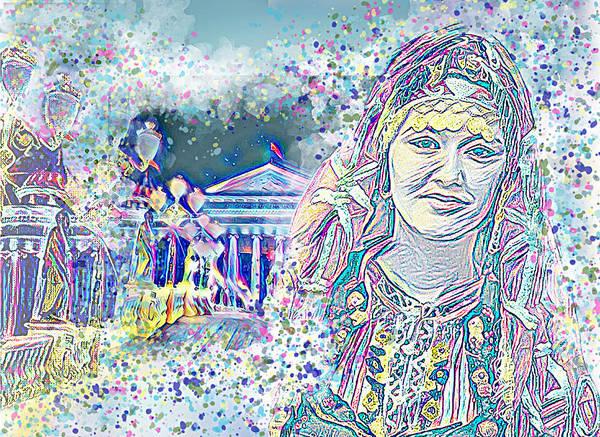 Macedonia Digital Art - Colours Of Macedonia by Stoica Elena-Mihaela