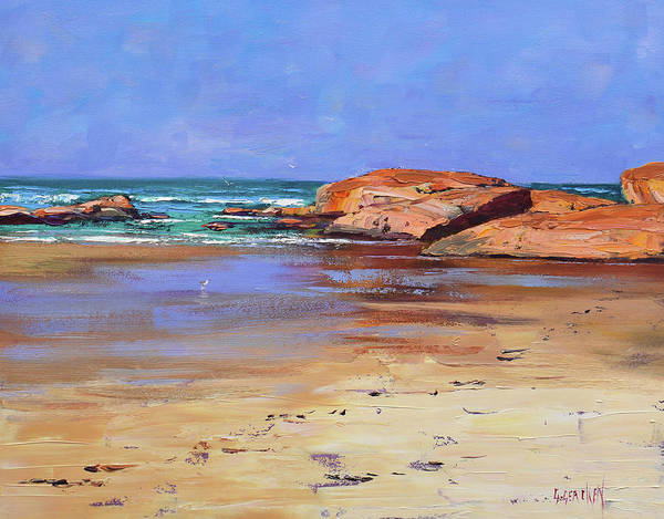 Wall Art - Painting - Colours Of South West Rocks Australia by Graham Gercken