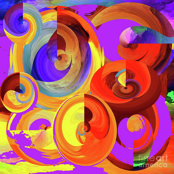 Wall Art - Digital Art - Colours Of The Rainbow by Merice Ewart