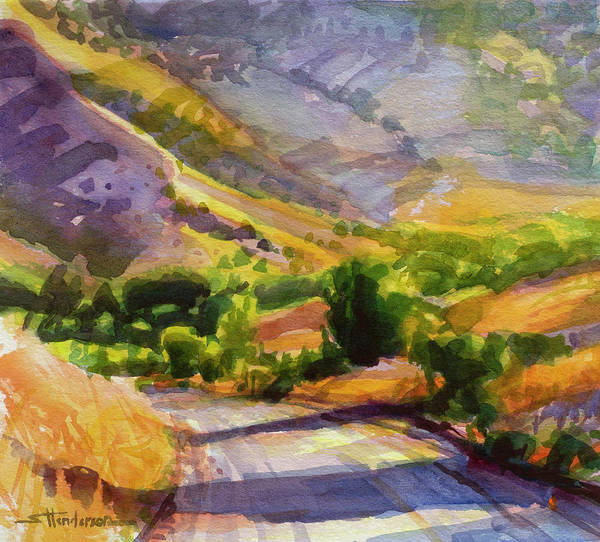 Painting - Columbia County Backroads by Steve Henderson