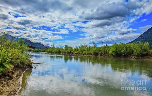 Wall Art - Photograph - Columbia River In Columbia River Valley by Robert Bales