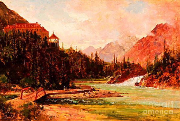 Windermere Painting - Columbia River by Peter Ogden Gallery