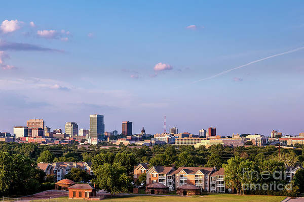 Photograph - Columbia Skyline - Late Pm by Charles Hite