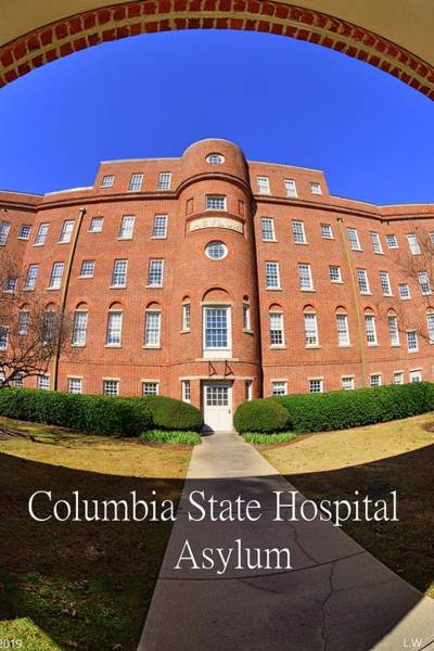 Photograph - Columbia State Hospital Asylum by Lisa Wooten