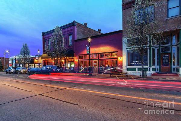 Wall Art - Photograph - Columbia Street At Dusk 2 by Larry Braun