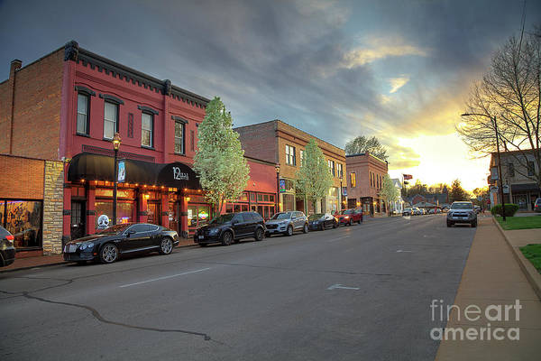 Wall Art - Photograph - Columbia Street At Dusk 3 by Larry Braun