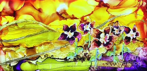 Painting - Columbine Sunset by Lisa DuBois