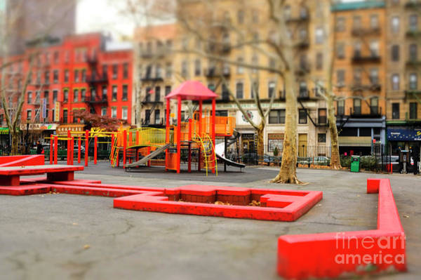Photograph - Columbus Park Colors New York City by John Rizzuto