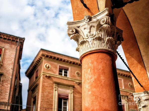 Photograph - Column Style In Bologna by John Rizzuto